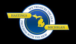 City of Hastings MI Logo Seasonal Grille