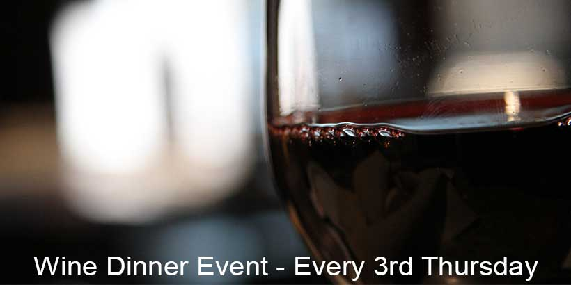 Wine Dinner Event Seasonal Grille Hastings MI