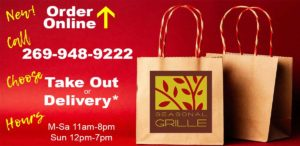Seasonal Grille Online Ordering, Take out & Delivery