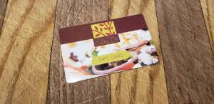 Seasonal Grille Gift Cards